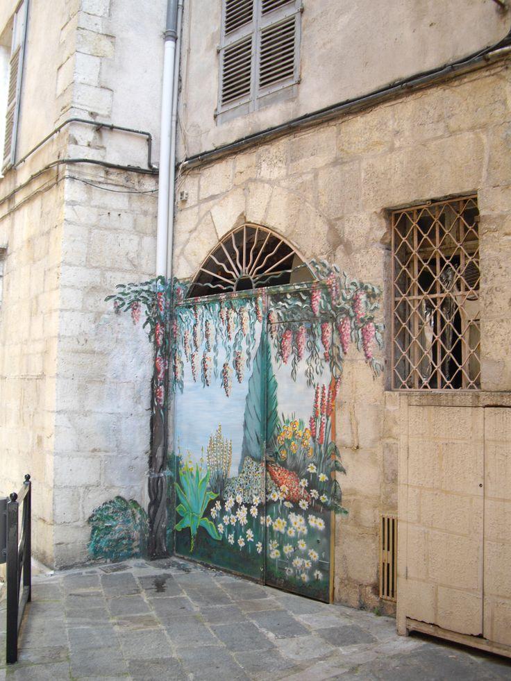 Grasse - Fresque murale By Stefania Antonelli
