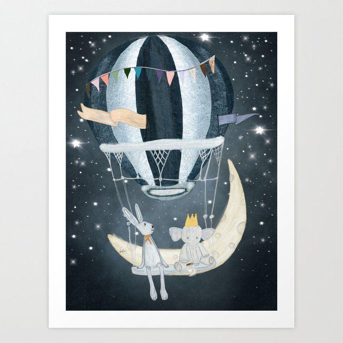 Wish Upon A Star Art Print By Bri Buckley Star Art Art Prints Canvas Prints