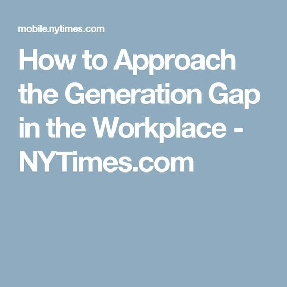 """age gap challenges in the workplace The workplace has traditionally consisted of """"old-timers"""" with 20 to 30 years of experience under their belts and the young """"hot-shots"""" who know-it-all."""