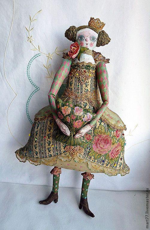 """Купить """"Принцесса"""" - кукла ручной работы, кукла, подарок, подарок девушке, принцесса, игрушка"""