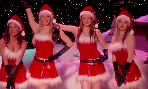 "Notice the material on these outfits? PLASTIC. | 21 Things You Never Noticed In ""Mean Girls"""