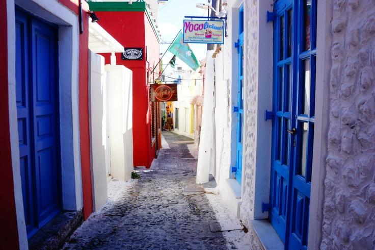 in Santorini, Greece