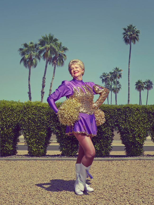 La alegría de vivir (en mallas y con pompones) más allá de los 60