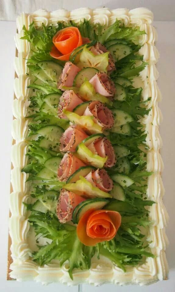 Ham cake
