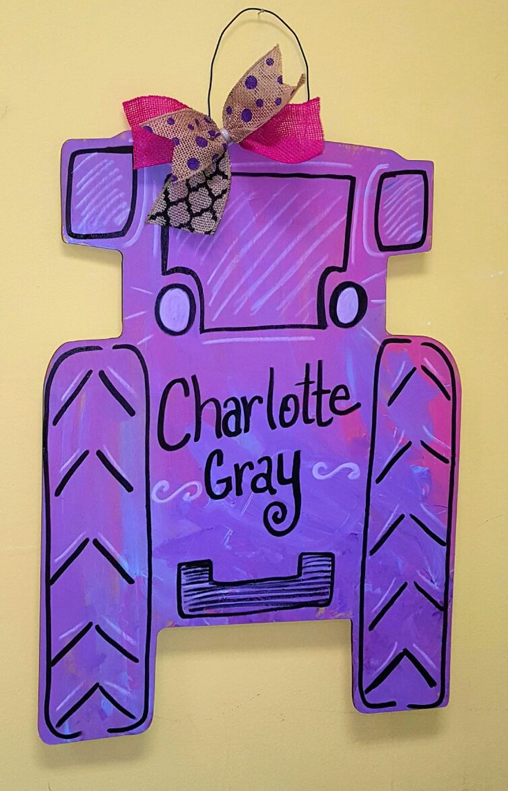 Tractor Wooden Door Hanger \u2022 Country Wooden Door Hanger \u2022 Personalized Wooden Door Hanger \u2022 Craft  sc 1 st  Pinterest & 87 best Country Charm Door Hangers images on Pinterest | Wooden door ...
