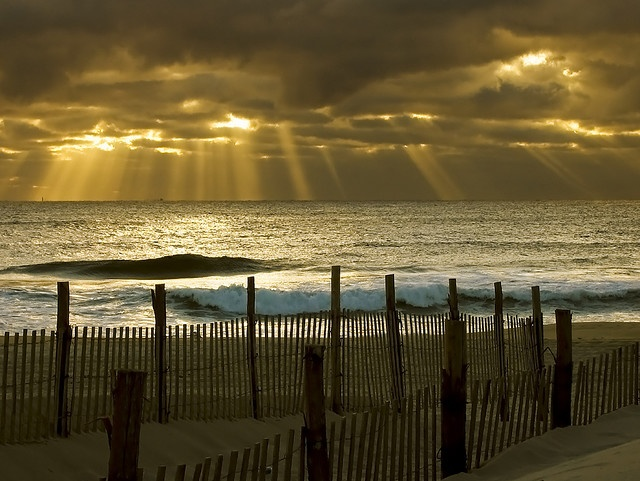 Seaside Park New Jersey sunrise