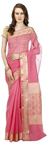 #Banarasisilkworks brings to you this #saree which is made from jute #material. It's length is 6.25 meters (includes blouse piece). #Pair this with your #favourite #jewellery and footwear  BuyNow@ http://amzn.to/2A5g3DN