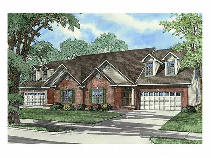 Multi Family House Plan 025m 0029 A New House
