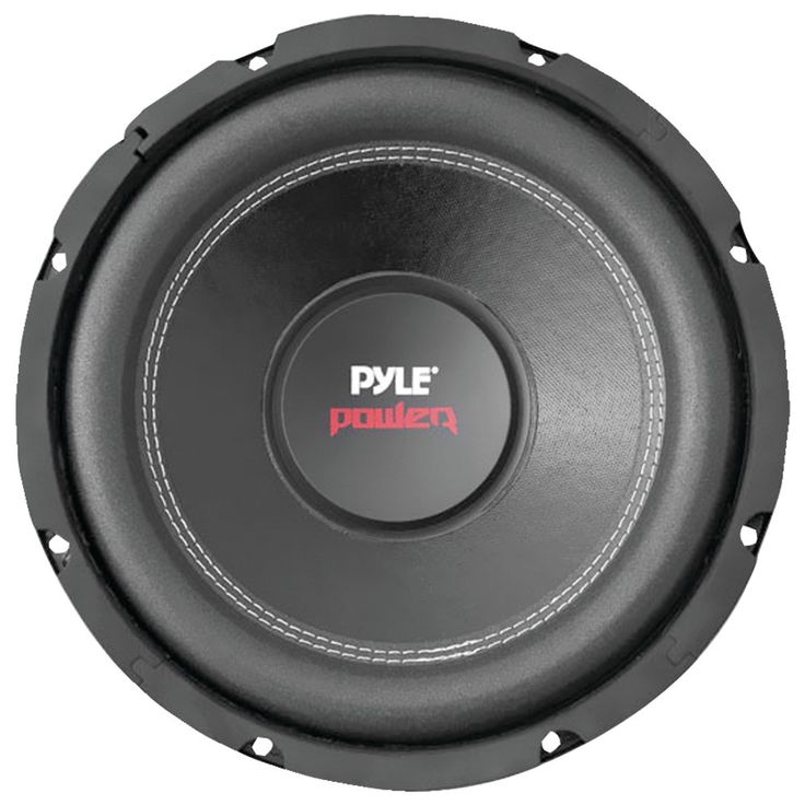 "Pyle Pro Power Series Dual Voice-coil 4ohm Subwoofer (12"" 1600 Watts)"