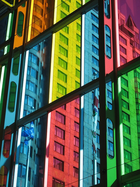 Montreal: Color Glasses, Color Fun, Glasses Beauty, Glasses Windows, Color Obsess, Crafts Color, Color Wonder, Colored Glass, Photo Monkey