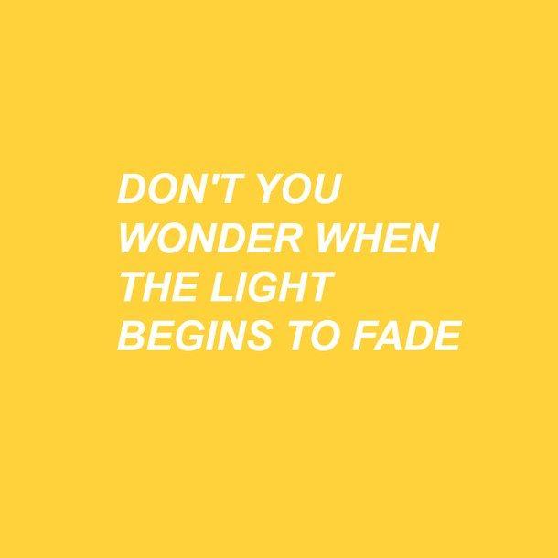 quotes, yellow, aesthetic, caps, patd