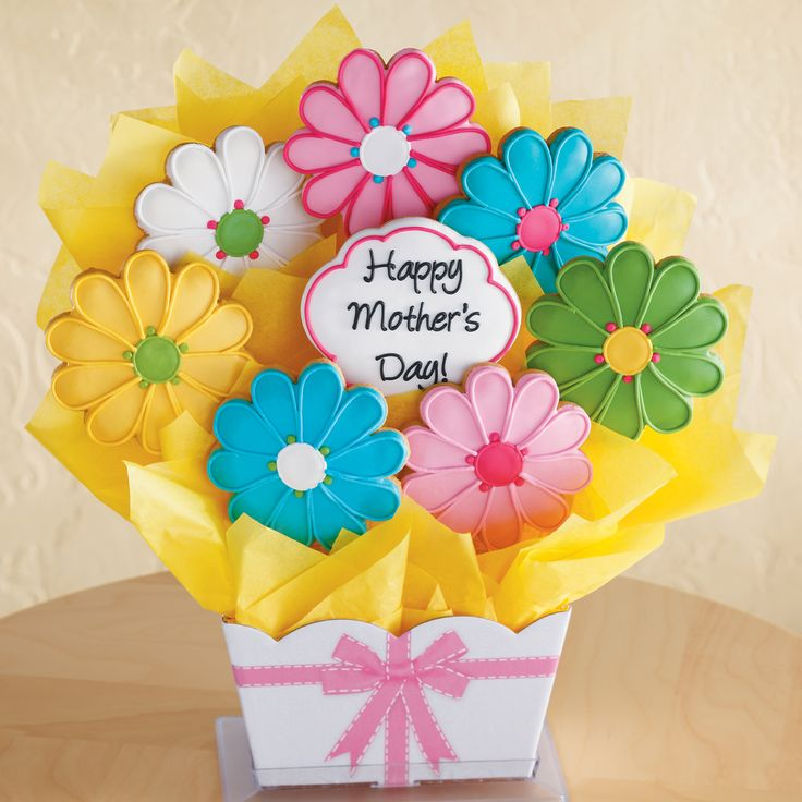 mothers day cookies | Mother's Day Cookie Bouquet