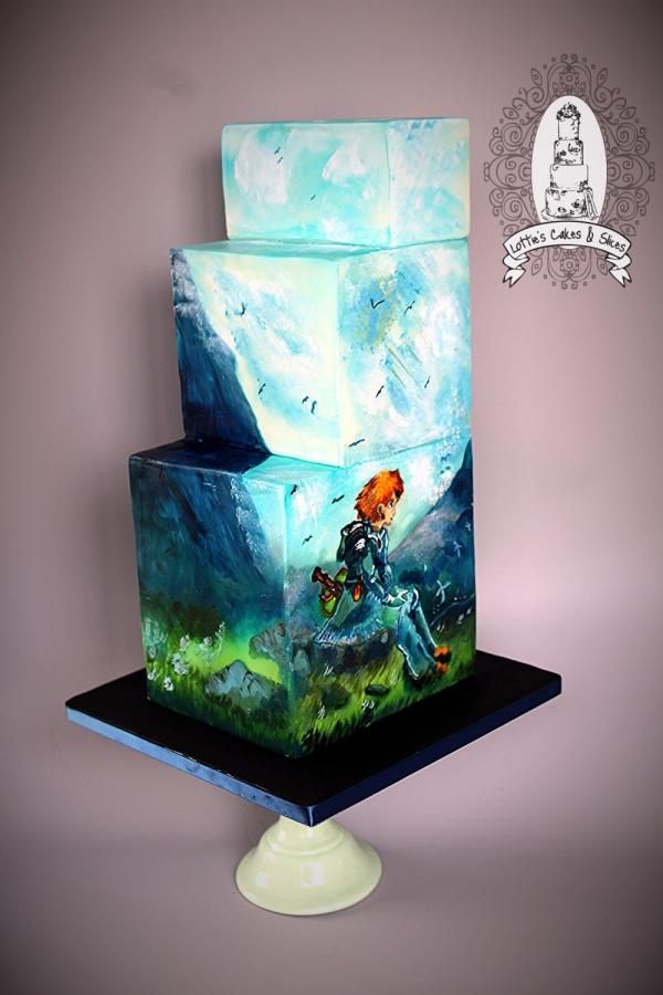 Nausicaa of the Valley of the Wind ; Spirited Away Collabration  by Lotties Cakes & Slices