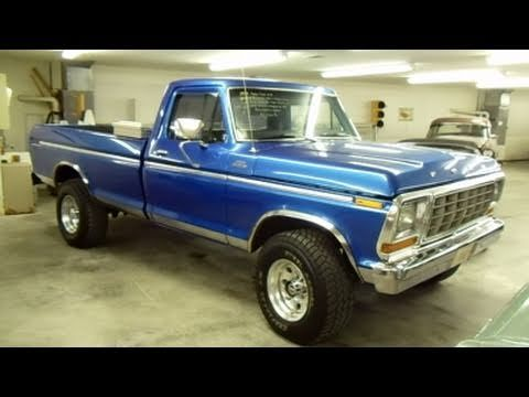 1979 Ford F250 4x4 Custom Lifted Pick-up - Very Nicely Restored