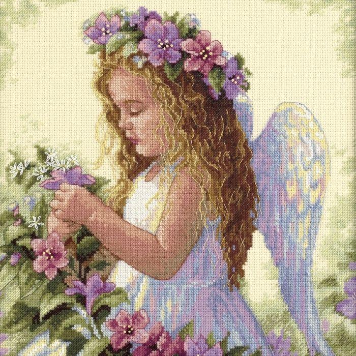 Anioły i Wróżki - Anioł wśród Kwiatów - Dimensions