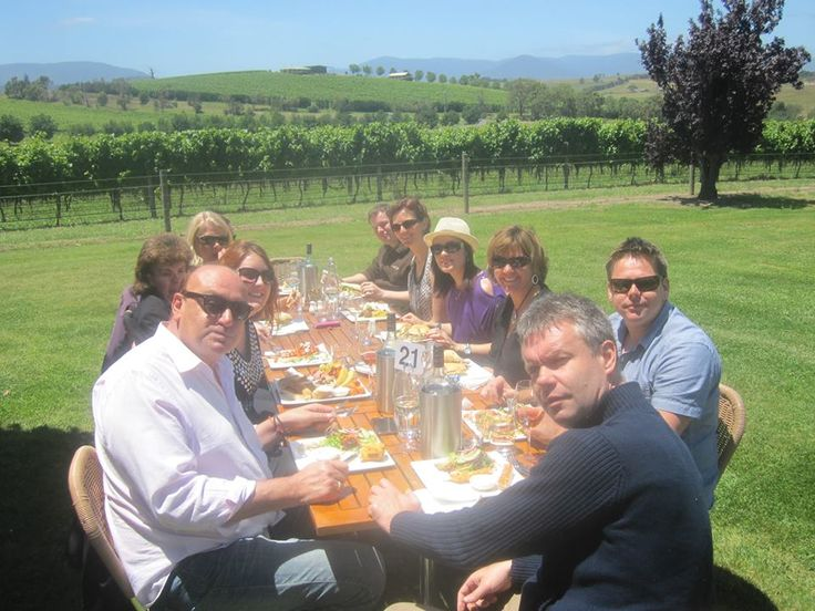 Lunch at the wineries
