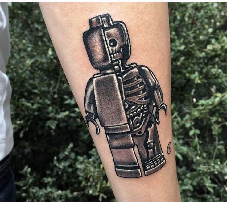 Lego Tattoos.