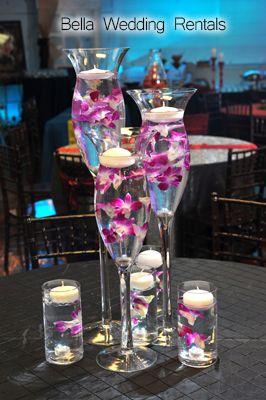 wedding reception centerpiece rentals flowers rh pinterest es