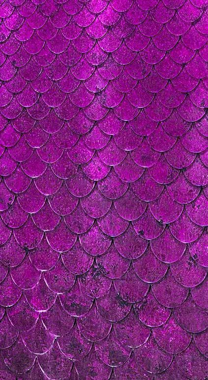Purple mermaid scales