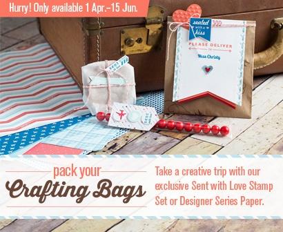 Stampin' Up! Promotion for April 2013 Australia. Order through www.alisatilsner.com