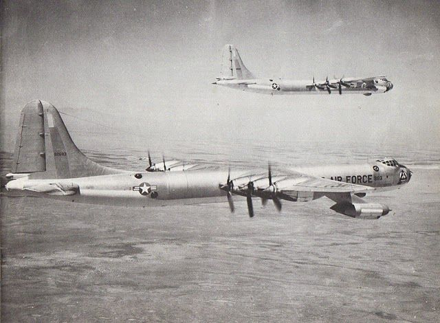 Strategic Air Command Bombers | ... part of the U.S. Strategic Air Command's deterrence. Photo provided
