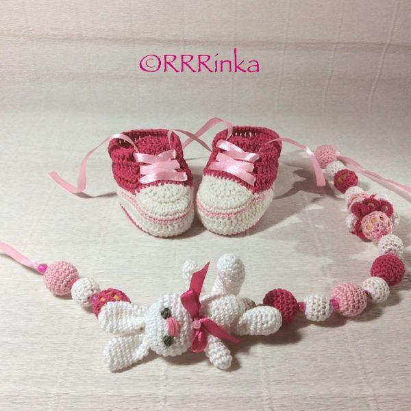 """Купить Комплект """"Зефирка"""" - комплект на выписку, фотосессия новорожденных, для новорожденного, для новорожденной, для девочки, пинетки"""