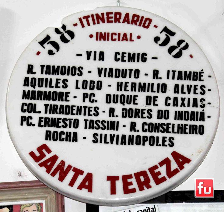 Itinerário Santa Tereza.