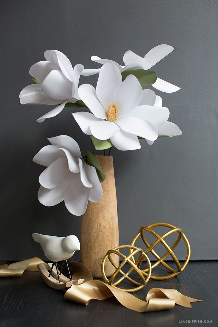 379 best diy home decor images on pinterest pinterest diy paper magnolia flower