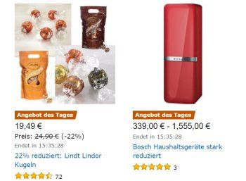 """Amazon: Lindt Lindor im Kilopack für 19,49 Euro https://www.discountfan.de/artikel/essen_und_trinken/amazon-lindt-lindor-im-kilopack-fuer-19-49-euro.php Süßes Schnäppchen bei Amazon: Für einen Tag sind """"Lindt Lindor""""-Kugeln deutlich reduziert zu haben: Vier verschiedene Kilopacks gibt es für je 19,49 Euro. Amazon: Lindt Lindor im Kilopack für 19,49 Euro (Bild: Amazon.de) Die Lindt Lindor Kugeln von Amazon sind nur am heutigen Mittw... #Pralinen, #Schokol"""