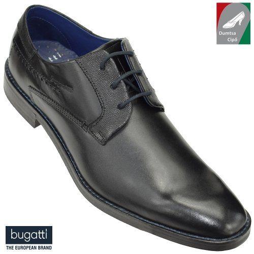Bugatti férfi bőrcipő 312-29603-1000-1000 fekete