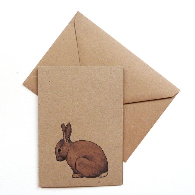 Rabbit card (100% recycled)