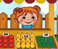 Pazarcı Lili - Türkçe oyunuyla hem eğlenin hemde pazarcı lilinin para kazanmasına yardım edin. Toptan aldığı meyve ve sebzeleri pazarcı lili satarak para kazanmaya çalışıyor. Bakalım siz ona yardım edince daha çok kazanacakmı. http://www.oyunturu.net/kiz-oyunlari/pazarci-lili-turkce.html