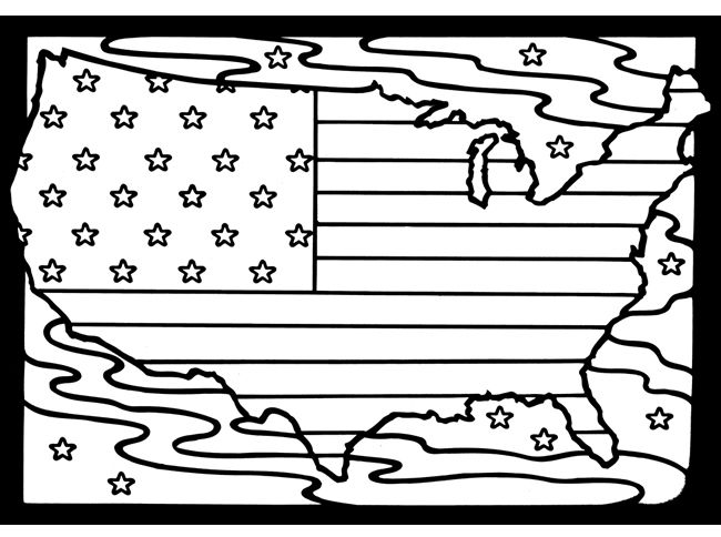 Coloring Book Usa Flag Best 65 Unit Study North America Images On Pinterest Education