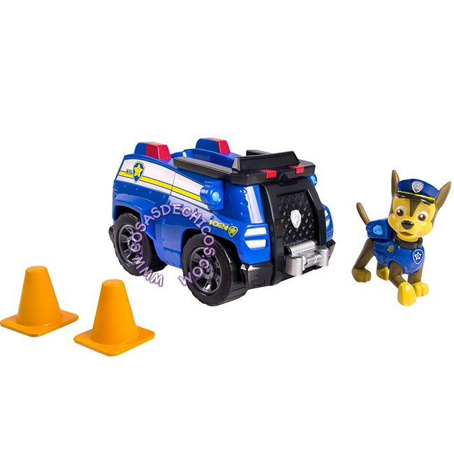 #PawPatrol #Figura con #Vehiculo Grande #Chase #Figure #PatrullaCanina #NickJr #Nickelodeon #Original #CosasDeChicos #Dogs #Perros #Toys #Kids #Truck #Police #PoliceDog #PerroPolicia