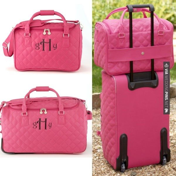 Neat! - Cute luggage for the honeymoon | CHECK OUT MORE IDEAS AT WEDDINGPINS.NET | #weddings #honeymoon #weddingnight #coolideas #events #forhoneymoon #honeymoonplaces #romance #beauty #planners #cards #weddingdestinations #travel #romanticplaces