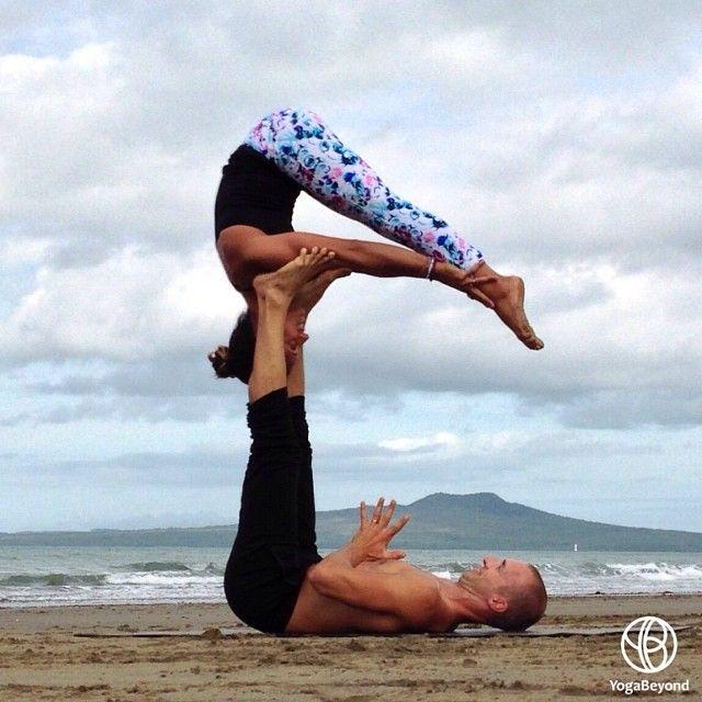 Floating Paschi on feet. Instagram photo by @yogabeyond (YogaBeyond.com)   Statigram