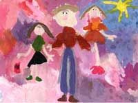 психологические тесты, методика рисунок семьи