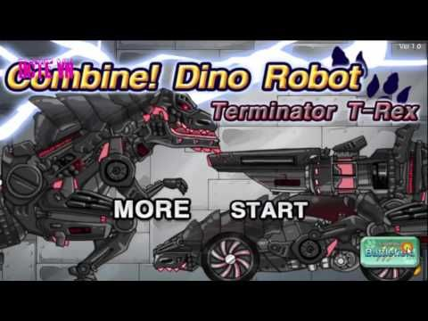 Dino Robot Terminator T-Rex Game. Play game at http://www.y8-games.name/dino-robot-terminator-t-rex.html. You can play Dino Robot Terminator T-Rex in your browser for free. Good luck to you .