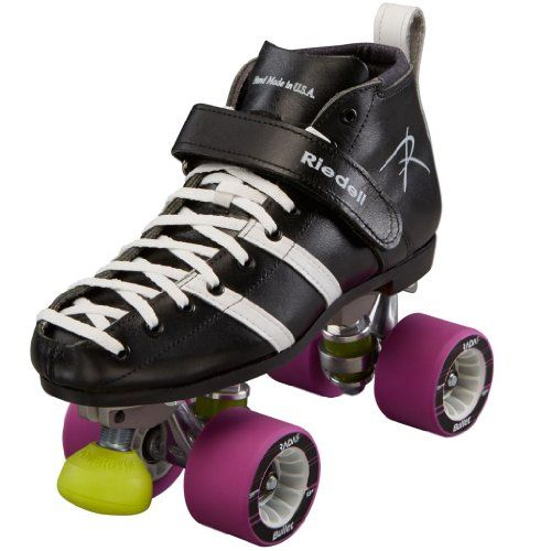 Riedell Wicked Derby Skates - Riedell 265 Roller Derby Quad Skates Size Size 6 - DB Width