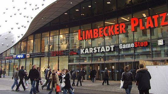 Limbecker Platz. Mehr auf: http://www.coolibri.de/staedte/essen/einkaufen/limbecker-platz.html