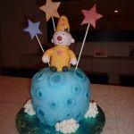Bumba op de maan taart
