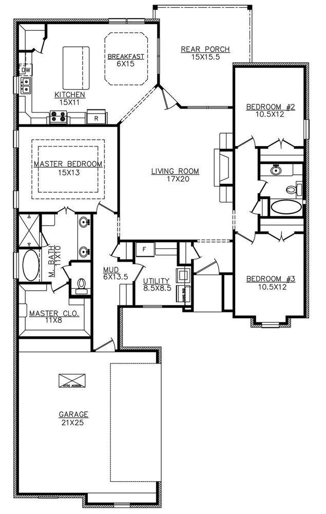 The Tanager 1825sf Building Plans House Loft Plan House Floor Plans