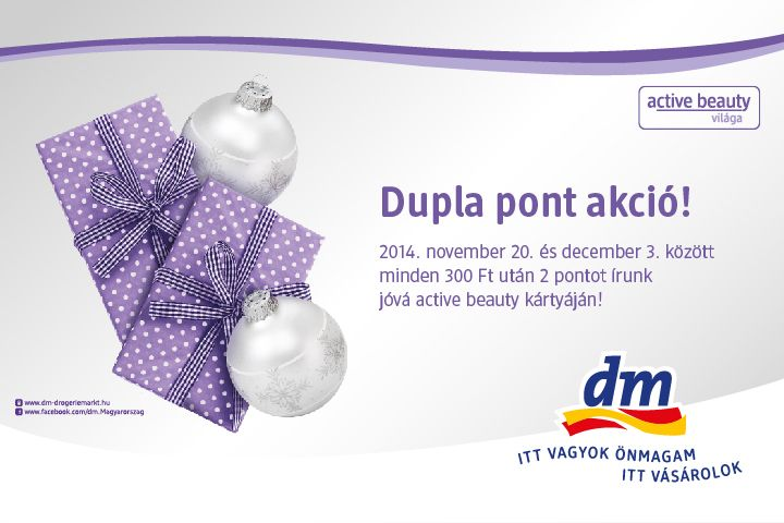 #DM #Allee #promotion #double_point