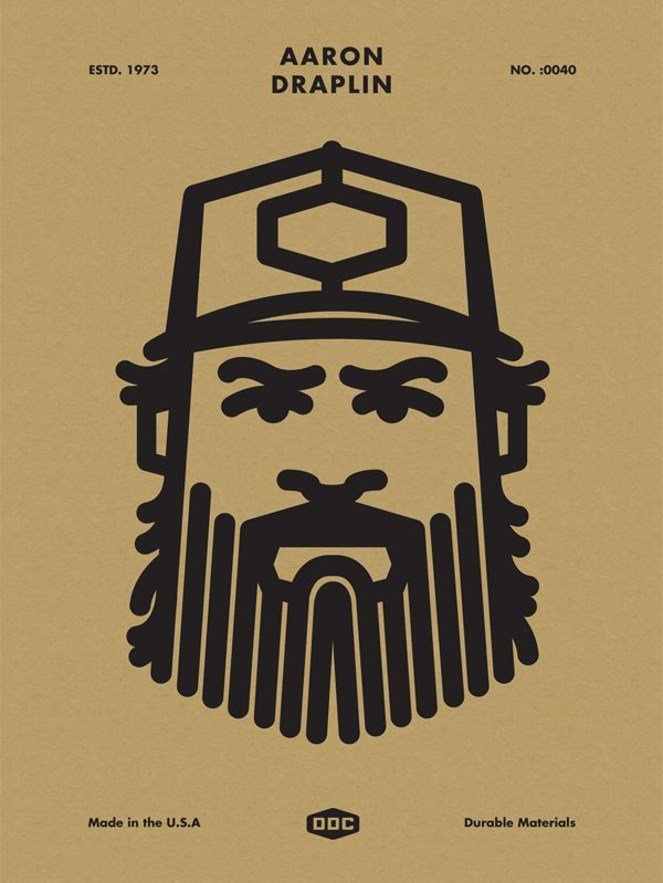 Superb illustrations for your inspiration   From up North. Draplin's work is a perfect example for me of incorporating design and illustration together.