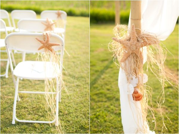 rustic beach chair, aisle, ceremony decor, country beach wedding, Katie Nesbitt Photography