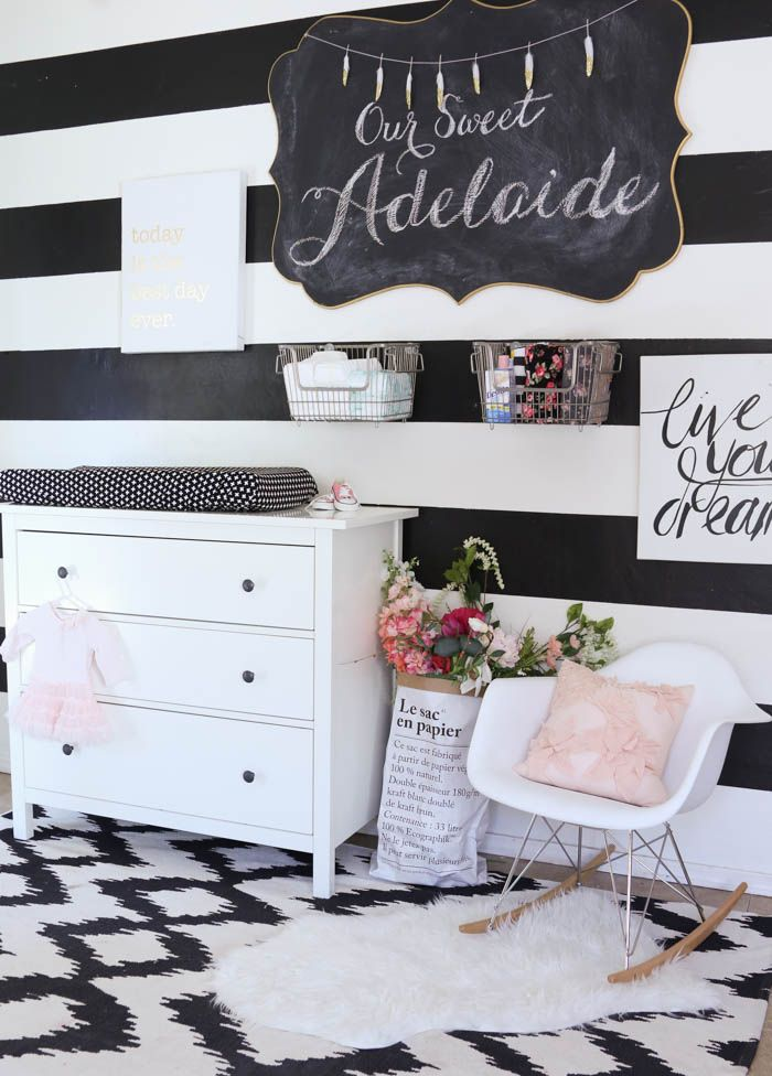 5 tips for cleaning and nesting before baby comes and a sneak peek of our baby girl's nursery with  @themaids - www.classyclutter.net