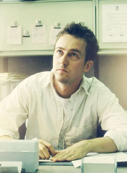 Edward Norton, male actor, celeb, genious, cute, steaming hot, handsome, sexy, eyecandy, portrait, photo