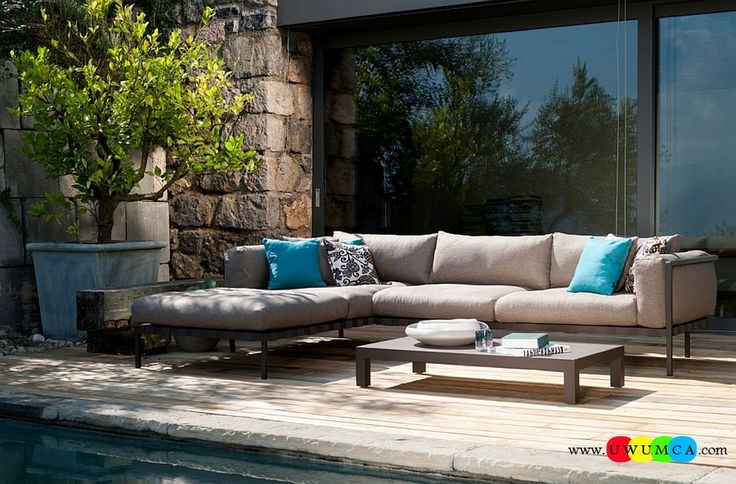 Furniture:Rustic Outdoor Summer Lounge Furniture Collection Easy Summer Garden Lounge Escapes Sofas Chairs Bar Table Set Luxurious Outdoor Sofa That Can Take The Wear And Tear Of Changing Seasons Luxurious Outdoor Decor Fruniture Collection To Enliven Your Relaxed Summer Lounge!