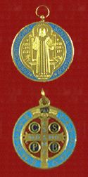The Medal or Cross of Saint Benedict