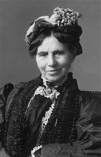 Clara Barton.  Civil War nurse. Founder of American Red Cross